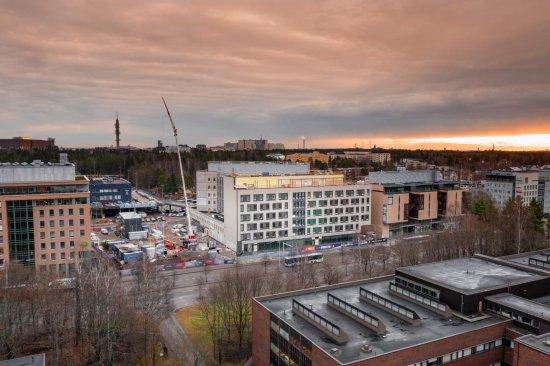 SSA Projectin VALO-työmaalla rakennusurakointi on edistynyt
