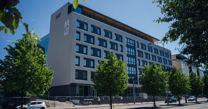 VALO Hotel & Work -työmaan valmistuminen lähestyy