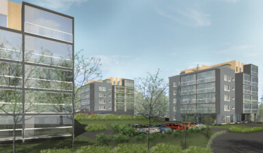 SSA Project Oy rakentaa yli 100 vuokra-asuntoa Avain Vuokra10 Oy:lle Porvoon Toukovuoreen