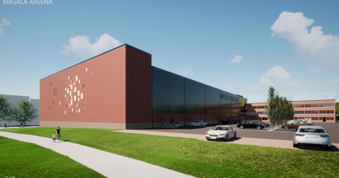 SSA rakentaa Masalaan liikuntakeskuksen laajennuksen