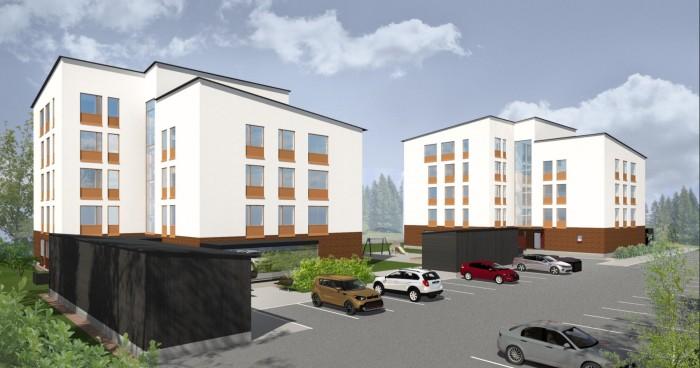 SSA rakentaa Avaimelle 43 asuntoa Hyvinkäälle