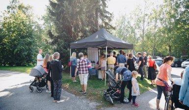 As Oy Helsingin Koivupuiston tiedotustilaisuus 28.8.2019